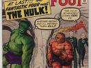 1963 FN/VF FANTASTIC FOUR #12: 1st meeting of Fantastic Four and The Hulk