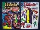 Fantastic Four #66 and #67  Origin and first app of Him (Warlock) No reserve
