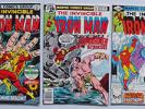 Iron Man Lot Of 5 - Issues # 67-81-120-136 & 137