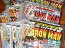 INVINCIBLE IRON MAN 103-125 129 130 133-135 137 139-144 146 147 154-169 171 172