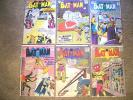 1958 - 1959 * BATMAN * 6 DC Comics Group Lot #120 to 128 * est GD- to VG Quality