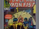 Power-Man and Iron Fist #122 9.4 WP CGC