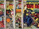 Iron Man #101 - 150 complete run avg VF+ 8.5  Marvel  1977  No Reserve
