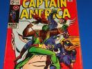 Captain America #118 Silver Age 2nd Falcon Key VG/F Wow