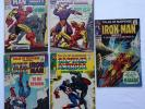 Tales of Suspense 95, 96, 97, 98, 99 Iron Man Capt America Marvel Comics Silver