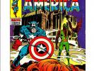 Marvel Captain America #118 KEY 3rd Falcon Red Skull Falls cover NICE COPY