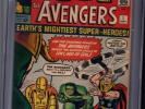 Avengers 1   CGC  6.5   Unrestored  Looks Like a 8.0  1963  Origin 1st Issue