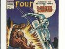 FANTASTIC FOUR #55 - EXTRA NICE VG 4.0 - AWESOME SURFER CVR - $1 MIN & N.R.