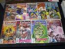 Misc lot of Fantastic Four Comics W/#406-411 and Unlimited #12 and Unplugged 3,5