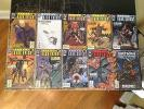 10 Batman Legends Dark Knight DC Comics #120 132 137 138 139 140 141 142 143 144