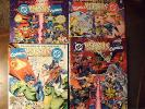 DC VERSUS MARVEL LOT #1 AND #4  MARVEL VERSUS DC #2 AND #3  RARE SET GREAT COND.