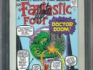 Fantastic Four #5 CGC 9.6 NM+ Signed By Stan Lee Marvel Milestone Edition Movie