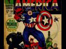 TJP003 LOT OF 17 CAPTAIN AMERICA #100-109,111,113-118 (1968-1969)