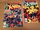 The Uncanny X-Men 133 & 134 Marvel Comic Books 1980's Phoneix, Wolverine