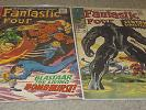 Fantastic Four #63 AND #64 lot (1967, Marvel)-first app. Kree from Guardians...