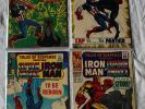 MARVEL SILVER AGE HIGH GRADE LOT - TALES OF SUSPENSE 82, 95, 96, 98 - 4 BOOK RUN