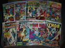 Huge Lot 9 Bronze Age Marvel Comics Iron Man Thor Avengers FF 3 12 56 61 77 101