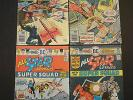 ALL-STAR COMICS Lot of 4 # 58 59 60 61 bronze age DC 1st POWERGIRL Flash JSA