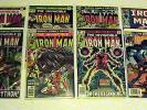 The Invincible Iron Man Lot- #50 / #61 / #62 / #113 / #122 / #151 / #210 / #7
