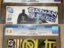Batman and the Outsiders LOT #1 CGC 9.8 - DC Comics, Outsiders #1