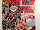 IRON MAN Comic lot (First Series) #120 121 122 123 124 125 HIGH GRADE Comics