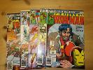 THE INVINCIBLE IRON MAN  1979  ISSUES 123,124, 126, 127, 128