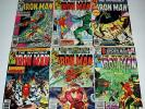 Lot of 6 Bronze Age IRON MAN 130 136 137 148 151 153  Bob Layton ANT MAN Nice