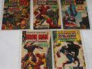 MARVEL SILVER AGE COMIC LOT TALES OF SUSPENSE 94, 95, 96, 97, 98 NICE GRADES *