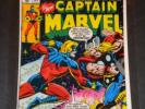 Bronze Age Marvel/Captain Marvel #57/Hi-Grade/NM 9.6/Cap Battles Thor