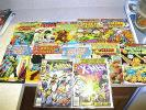 X-MEN 137 DEATH OF JEAN GREY+ X-MEN 126 WORLDS FINEST IRON MAN DEFENDERS LOT