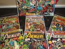 Avengers LOT OF 8 125 124 123 122 121 120 119 118 Captain America Thor Iron Man
