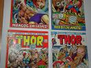 //    MARVEL COMIC-:the MIGHTY THOR-# 195-196-197-198-(4PCS)-- fine to/VF