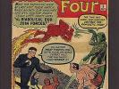 Fantastic Four #6, 10, & 14 3.0 1.5 & 4.0 1962 Marvel Silver Age Superheroes