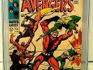 The Avengers #55, Graded 9.0 by CGC, Marvel 8/68