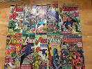 AVENGERS BRONZE AGE LOT 10 BOOKS 130 132-133 137-141 145 147 VISION IRON MAN