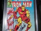 IRON MAN 126 STAN LEE ROMITA JR CGC SIGNATURE SERIES 7.5 9.8 9.9 RHODES STARK