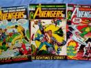 Avengers Lot - 101 103 116 Captain America Thor Iron Man Hulk harlan ellison