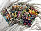 The Uncanny X-Men Comic Book Lot Of 17: 133-149. Includes: Days of Future Past