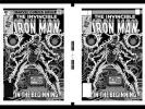 Dave Cockrum Iron Man #122 Cover Rare Large Production Art Two Up