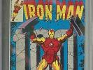 IRON MAN #100 CGC 9.8 OW/WH PAGES // MANDARIN APPEARANCE
