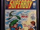 1973 DC COMICS SUPERBOY #194 CGC 9.8 WHITE PAGES HIGH GRADE NICK CARDY SUPERMAN