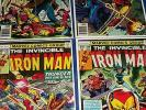 Iron Man #101,102,103,104 Run of 4 F to VF