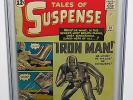 CGC 4.5 MARVEL TALES OF SUSPENSE #39 (Mar 1963) FIRST APPEARANCE OF IRON MAN