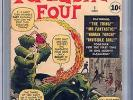 Fantastic Four #1 CGC 3.5 (OW) Origin and 1st appearance of Fantastic Four