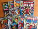 Iron Man 119,120,121,122,123,124,125,126,127. run of nine bronze age classics