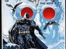 Batman Annual #1 High Grade Night Of The Owls DC NEW 52 1st Print Mr. Freeze NM