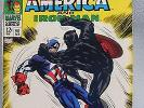 MARVEL - TALES OF SUSPENSE CAPTAIN AMERICA AND IRON MAN ISSUE # 98 IN FN COND