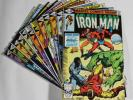 E7 Marvel IRON MAN Comic Books 133 134 135 136 137 138 139 140 141 142 143 & 144
