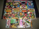 Look--- Marvel Premiere 17,21,23,24 & Power Man Iron Fist, 85,122,123,124+extras