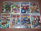 HUGE LOT INVINCIBLE IRON MAN COMICS 50-272, MARVEL COMICS 76/80/81/84/85/100/101